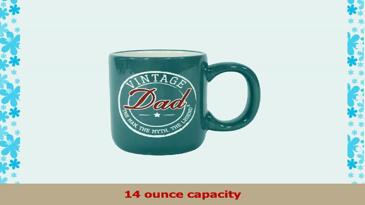 Laid Back CS13037 Vintage Dad Ceramic Mug 14Ounce c5779ad9