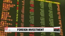 Local stocks held by foreign investors surpasses 500 trillion won mark