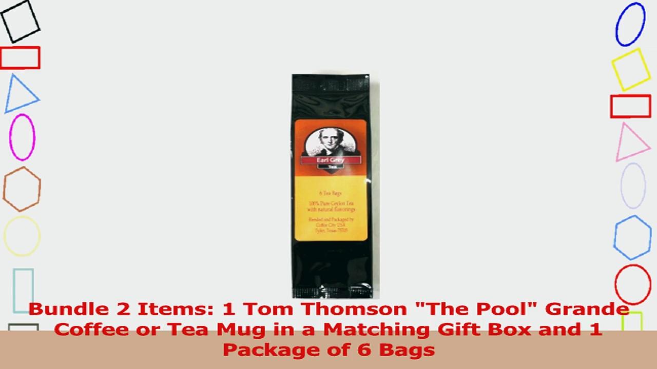 Tom Thomson The Pool Grande Coffee Mug in a Matching Gift Box 6 Tea Bags Bundle 2 Items 9ea063c1