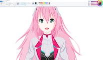 How I Draw using Mouse on Paint  - Julis Riessfeld - Gakusen Toshi Asterisk