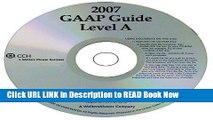Get the Book GAAP Guide Level A (Standalone CD) (Miller) Free Online