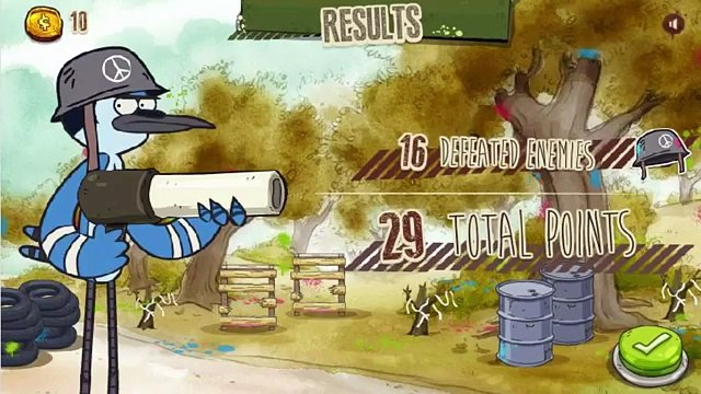 Regular Show - Paint War - Regular Show Games