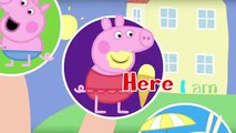 George Pig Crying Rescues Peppa Pig Superheroes #Finger Family #Nursery Rhymes Songs