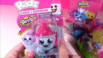 SHOPKINS McDonalds Happy Meal Box FUN! Blind Bags Cookies Candy!Baby Lips Lip BALM!