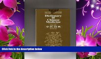 READ book English-Chinese Chinese-English Dictionary of Chinese Medicine Xijie Wei Full Book