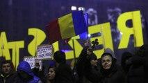 تظاهرات سراسری مخالفان دولت در رومانی