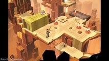 Lara Croft Go - The Maze of Spirits / Gameplay Walkthrough / Level 1-4 / PART 5 iOS/Android
