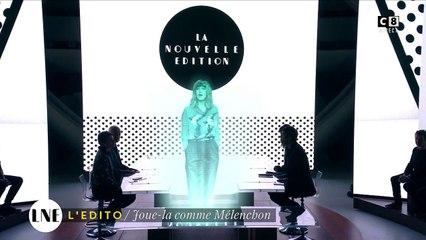 Daphné Bürki utilise son hologramme dans La Nouvelle Edition.