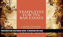 Audiobook  Templates For 75% Bar Essays: Create  the 75% essay even on the fly Value Bar For Ipad