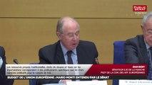 Auditions Mario Monti et Loïc Blondiau démocratie participative - Les matins du Sénat (06/02/2017)