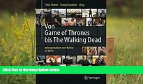 Read Online Von Game of Thrones bis The Walking Dead: Interpretation von Kultur in Serie (German