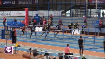 CF Espoirs : Finale 60 m Haies Hommes