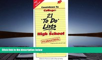Best PDF  Countdown to College: 21 To Do Lists for High School: Step-By-Step Strategies for 9th,