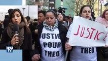 Aulnay-sous-Bois: une marche blanche organisée en soutien à Theo, agressé par quatre policiers