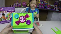 MAKING LOLLIPOPS CANDY How to Make Lollipops Candy to Surprise Friends Lollipop Maker Toy Opening