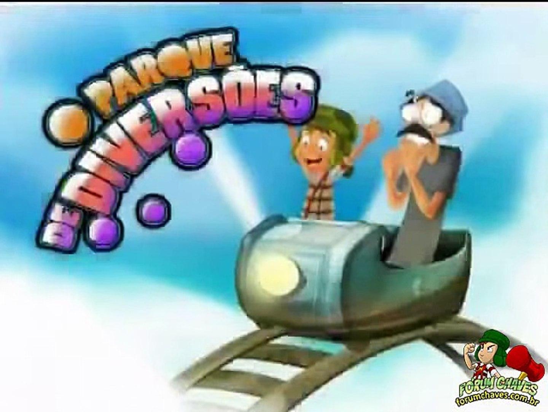 Chaves Em Desenho Animado O Parque De Diversoes 3ª Temporada