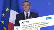 """François Fillon attaque violemment """"Médiapart""""... qui s'en amuse"""