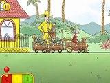 Curious George Train Adventures by Houghton Mifflin Harcourt - Brief gameplay MarkSungNow