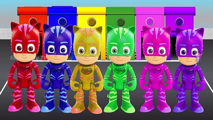 Learn Colors with P J Masks Colors | Kids Learn Colors | Video for Kids