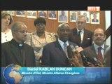 Rencontre entre le ministre d'Etat, ministre des affaires étrangères et les doyens du corps diplomatique