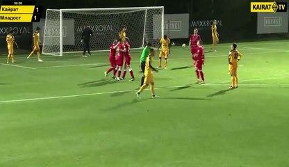 FC Kairat - FK Mladost DK 1:2 [Golovi]
