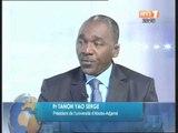 Nouveaux coûts de la scolarité: Le Président de l'université de Cocody donne des explications