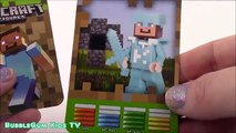 Minecraft Lego Mini Figures! Steve Creeper Zombie