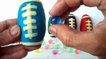 Balls for Children SPORT Ball Play Doh - Ball Opening Surprise Toys