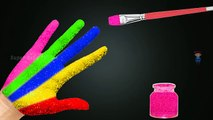 Learning Colors Body Painting Video for Children | Paint Colors Finger Learn Colours