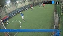 Faute de Mathias - Les Gars Laktic Vs Konica Minolta - 06/02/17 20:00 - Bezons (LeFive) Soccer Park