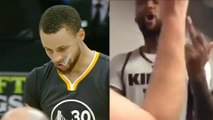 """Steph Curry MISSES Game-Winning Layup, DeMarcus Cousins Yells """"F**k Golden State!"""""""