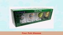 ARC International Luminarc Irish Beer Label Pub Beer Glass 16oz  Set of 4 2756b63e