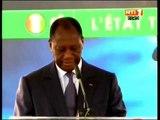 Le Président Ouattara à lancé les travaux d'adduction d'eau potable du district d'Abidjan