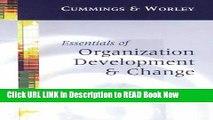 FREE [DOWNLOAD] Essentials of Organization Development and Change FULL Online