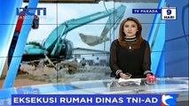 Isak Tangis Warnai Eksekusi Rumah Dinas TNI AD di Cijantung
