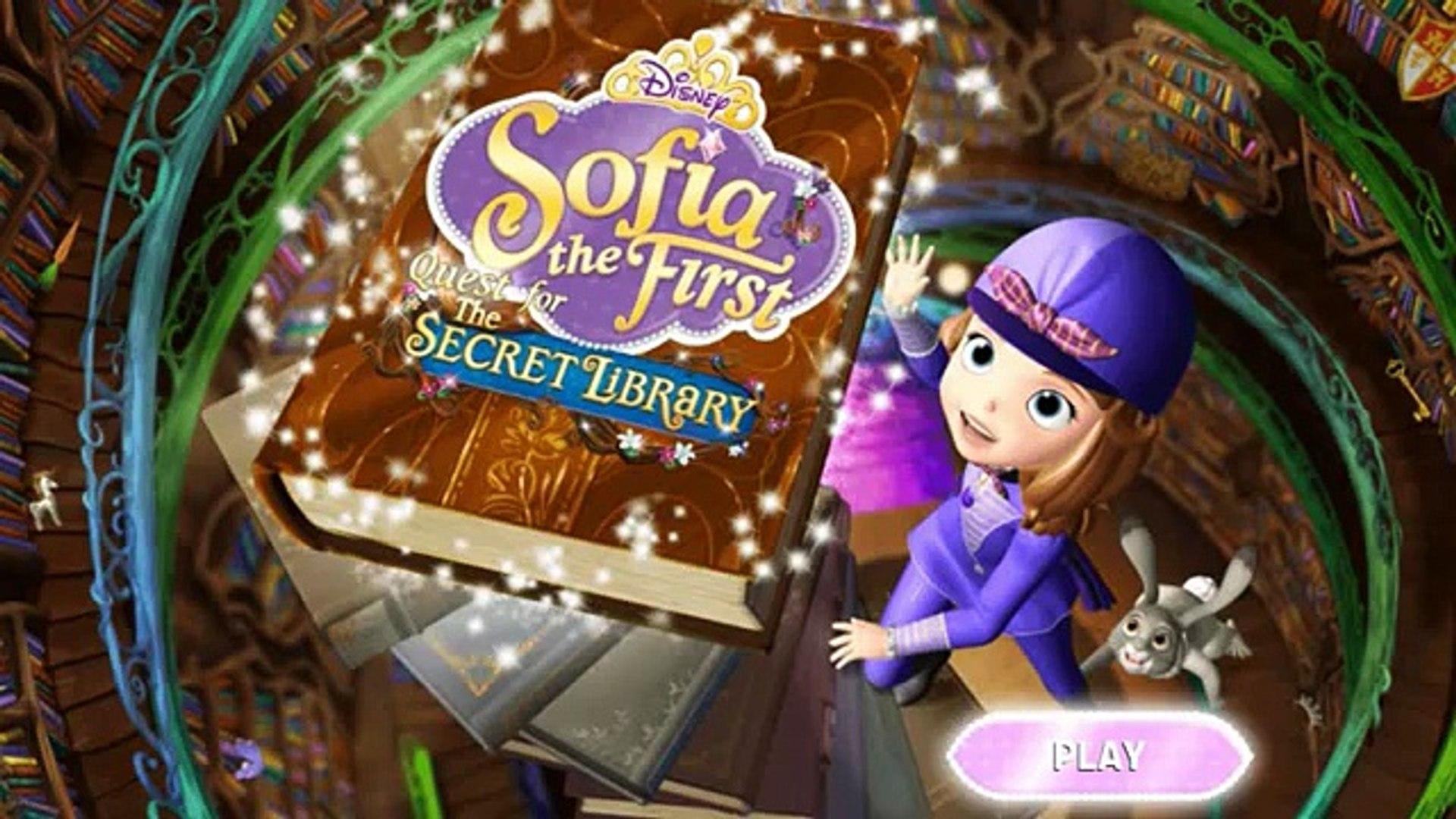 Sofia the First - Quest for the Secret Library/София Прекрасная - Поиски секретной библиотеке