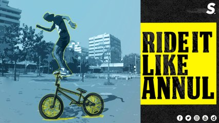 BMX Rider Annul Pale | The Inspirational Street King