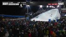 Grosse chute pour le skieur Kevin Rolland Aux X-Games d'Aspen.