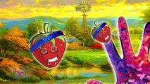 Семья Берри палец для детей | мультфильм стишок с текстами | Детские песни | стишки 3D детские