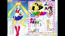 Sailor Moon Games Sailor Moon Girls Dress Up Game