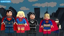 Finger семья супермен семья палец песня Лего супермен