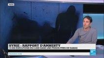 """Rapport d'Amnesty Internation : """"plus on avance dans le conflit, plus la Sy rie s'enfonce dans l'horreur"""""""