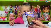 ✔ Минни Маус. Ярослава открывает Яйца с Сюрпризами. Видео для детей. Minnie Mouse Toys ✔