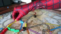 FROZEN ELSA SPIDER PRANK GONE WRONG Spiderman Vs Frozen Elsa Funny Superhero Animations