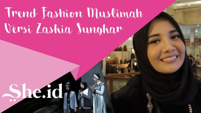 Trend Fashion Muslimah Versi Zaskia Sungkar (Indonesia Fashion Week 2017)