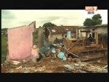 Attécoubé: La Démolition des zones à risque est entrée dans sa phase active
