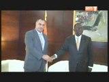 Le 1er ministre Ahoussou Jeannot a reçu en audience l'ambassadeur du Liban