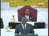 Le Premier ministre Ahoussou présente la politique générale du gouvernement devant les députés