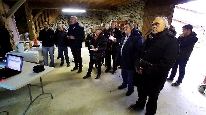 Gautier Moureu présente les attentes des jeunes agriculteurs