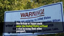 Before that legislation, some citizens of those four countries who also had passports in countries